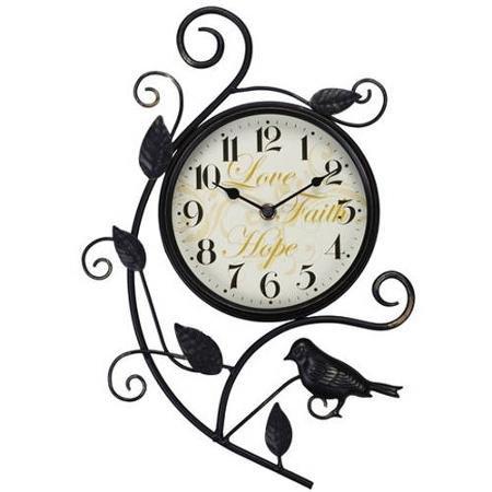 BHG Bird Wall Clock