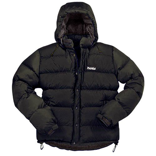 TAIGA Mont Blanc Extreme 800 - Men's Lightweight Warm Goose Down Jackets, Black, MADE IN CANADA