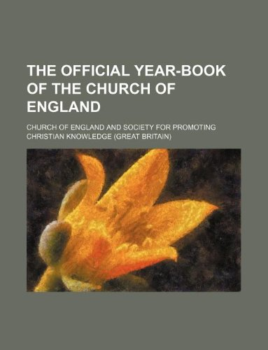 The official year-book of the Church of England