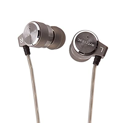 GranVela Astrotec AX60 Triple-Driver 10mm moving coil + complex double moving iron unit High-Fidelity Balanced Armature In Ear HIFI Monitors DJ Studio Stereo Music Earphones Headphone Earbuds Earhook For Mobile Phone iPhone Samsung MP3 MP4 Music Player (S