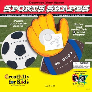 Creativity for Kids: Sport Shapes