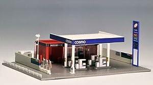 TOMIX Nゲージ 4068 ガソリンスタンド (コスモ石油)