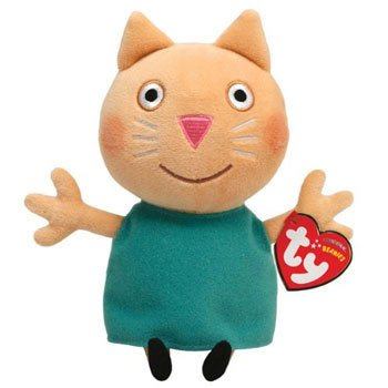 Peppa Pig Candy Cat - Peluche de 16 cm