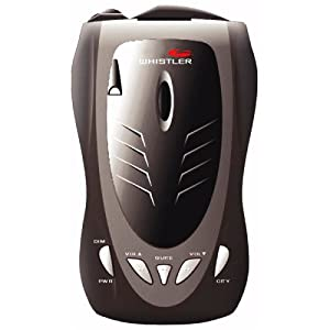 Whistler DE1788 Cordless Radar/Laser Detector with Tri-Directional Text Display