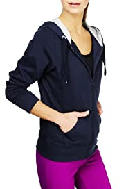 M&S Collection Zip Through Hooded Tracksuit Top [T51-0722-S]