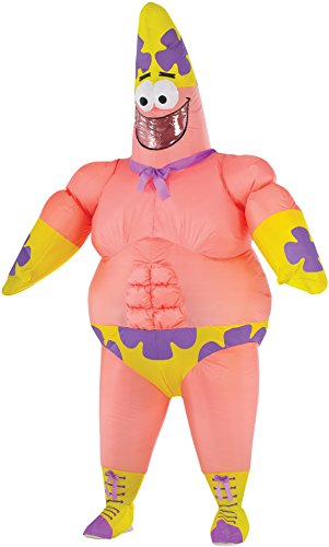 Rubie's Costume Co Men's SpongeBob Movie Inflatable Patrick Star Costume