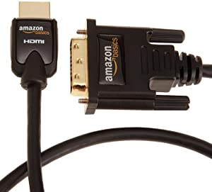AmazonBasics HDMI to DVI  Adapter Cable - 9.8 Feet (3 Meters)