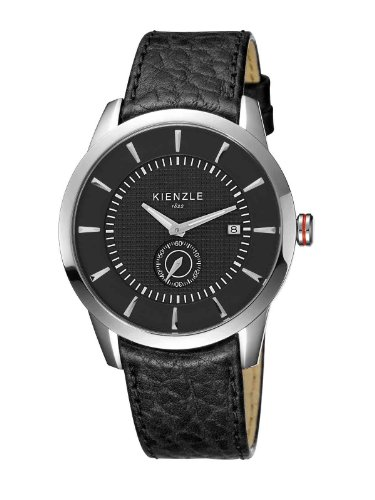 Kienzle Herren-Armbanduhr XL Analog Leder K9041503011