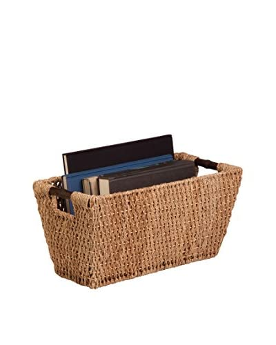 Honey-Can-Do Seagrass Large Basket with Handles