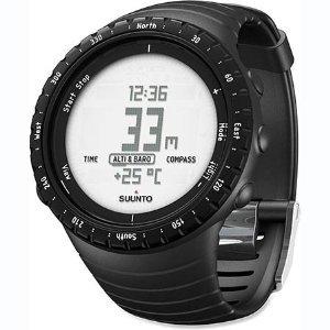 Suunto Core Altimeter, Barometer & Compass, Regular Black
