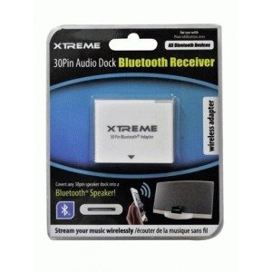 Xtreme 59850 Wireless Receiveraudio Dock Bluetooth 30 Pin