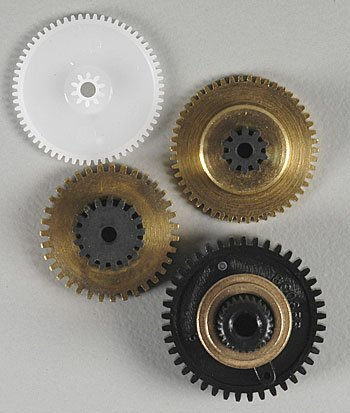 Associated 29107 Servo Gear Sets Metal