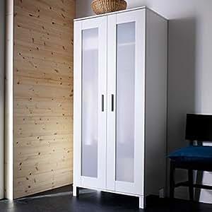 Ikea ANEBODA Wardrobe Armoire White