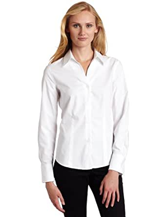 Jones new york women 39 s long sleeve no iron for New york and company dress shirts