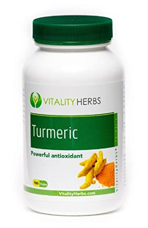 Отзывы Vitality Herbs Turmeric Root - Organic Herbs - 100 Vegi Capsules - 1740 mg per serving - 1-2 capsules 2-3 times daily with food