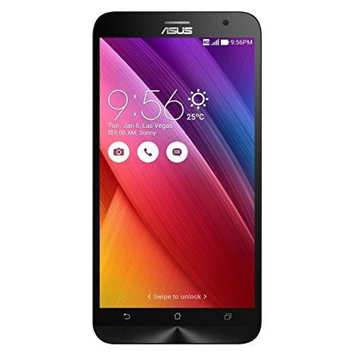 Asus ZenFone 2 Smartphone 5.5 pollici Full HD, RAM 4 GB, 32 GB, 4G/LTE, Nero