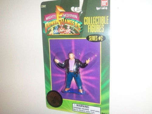 "1994 Mighty Morphin Power Rangers 3"" Collectible Figures Series #2- Farkus ""Bulk"" Bulkmeier"
