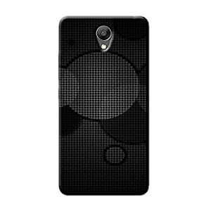 DARK TEXTURED CIRCLES BACK COVER FOR XIAOMI REDMI NOTE 2