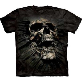 The Mountain Breakthrough Skull Adult T-shirt S