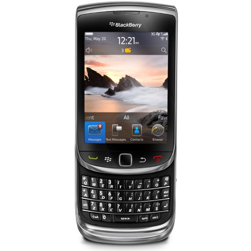 Blackberry Torch 9800 BB9800EUBLK Slider Unlocked 