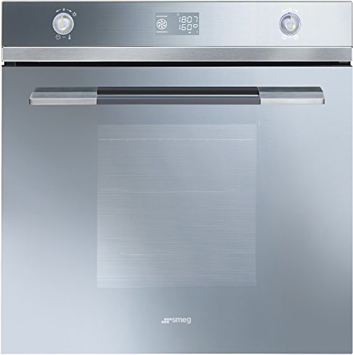 Smeg Linea Single Oven - Integrated - SFP125S-1 - Silver Glass