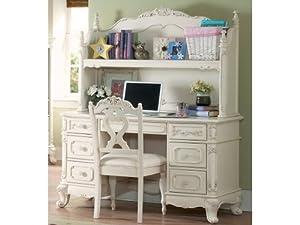 Amazon.com: Cinderella Kid's Wood Writing Desk With Hutch