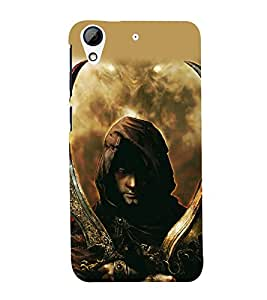 printtech Game Prince Warrior Back Case Cover for HTC Desire 626 / HTC Desire 626 Dual SIM with dual-SIM card slots