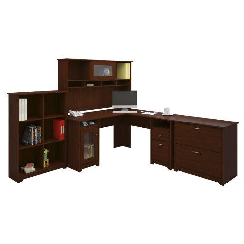 Bush Furniture Bush Furniture Cabot L Desk With