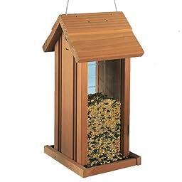 North States Cedar Hanging Birdfeeder Tower
