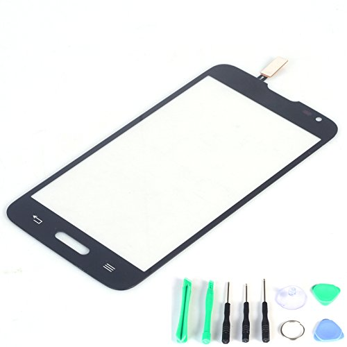 Generic Touch Screen Digitizer Replacement (Lcd Display Not Included) For Lg Optimus L70 D325 D320 D320N +Free Tools (Black)