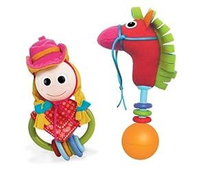 Yookidoo - Conjunto juego cowgirl y pony (40119) por Yookidoo en BebeHogar.com