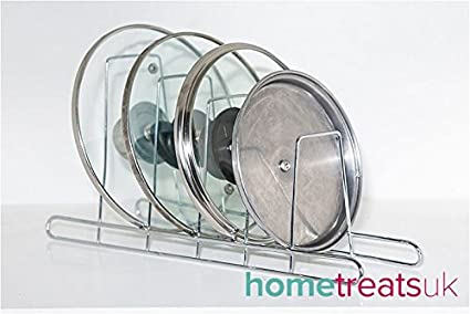 Chrome Storage Rack Chrome Plate Rack Pan Lid