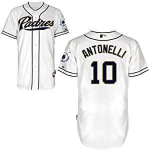 Matt Antonelli San Diego Padres Home Authentic Cool Base Jersey by Majestic by Majestic