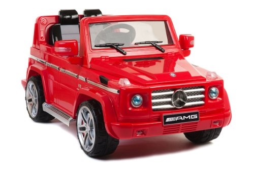 New Hot Model 4Ch Remote Controlled Electric Licensed Mercedes Benz Ride-On Car Mercedes-Benz G55 Under License / With License Design And Key For Start