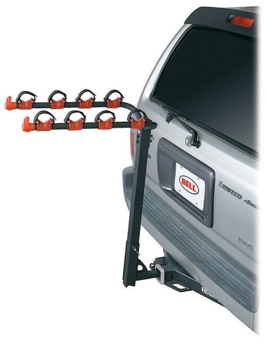 Bell HitchBiker 4-Bike Hitch Mount Rack
