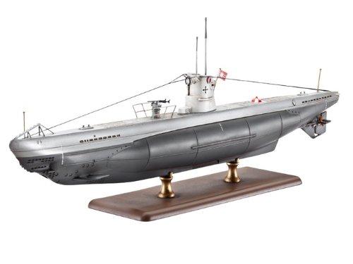 Revell-05115-Modellbausatz-U-Boot-Typ-IIB-Mastab-1144