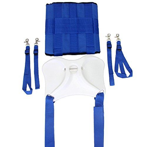 Signstek Boat Fishing Rod Holder Fighting Belt with Shoulder Back Harness Complete Package (Fishing Shoulder Harness compare prices)