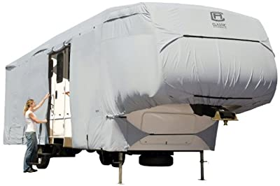 Classic Accessories Overdrive PermaPro Heavy Duty Cover For Extra Tall 5th Wheel Trailers