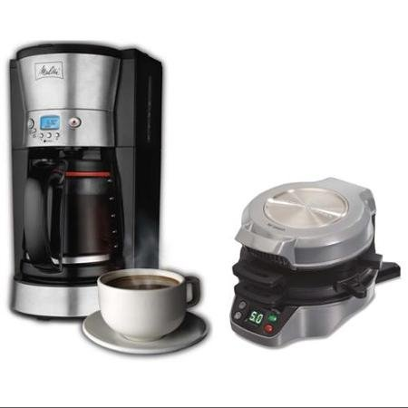 Melitta 46893 LCD 12-Cup Coffee Maker, with 25495 Breakfast Burrito Maker Bundle (Coffee Maker Melitta 46893 compare prices)
