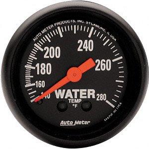 Auto Meter 2606 Z-Series Mechanical Water Temperature Gauge