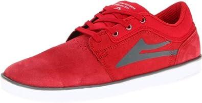 Lakai HOWARD MS113-0007-B00, Herren Sneaker, Rot (RED SUEDE A0600), EU 40 (UK 6) (US 7)