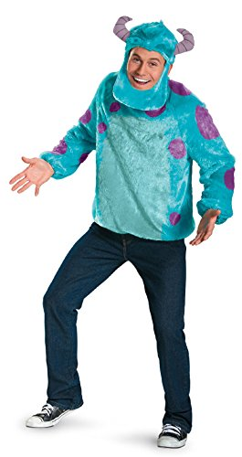[58783 (XXL 50-52) Sulley Adult Costume] (Mike From Monsters Inc Costume For Adults)