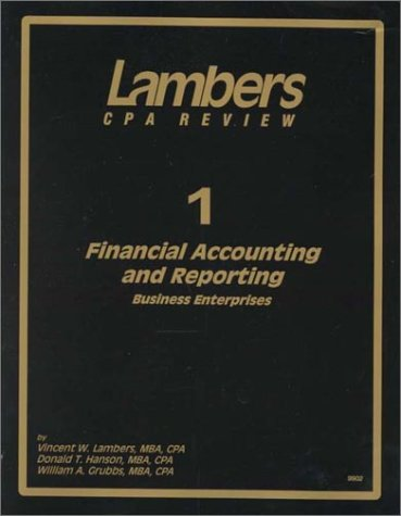 CPA Exam Preparation: Four Volume Set of Textbooks (Lambers CPA Review)