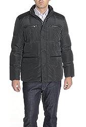 Kenneth Cole New York Mens Puffer Jacket Black