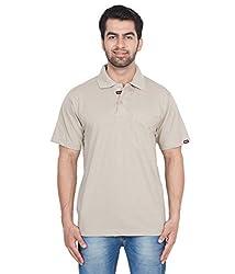 Gio Men's Cotton T-Shirt (AMZ_AMP_183_Grey_Medium)