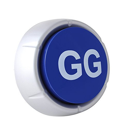 Good Game Button - GG Button - Blue
