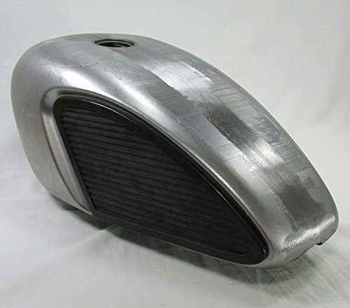 Motorcycle Gas Tank Knee Pads for Cut-Outs on Scalloped Legacy Tanks - TANK SOLD SEPARATELY - Motorcycle Chopper Bobber Cafe Racer (Cafe Tank compare prices)