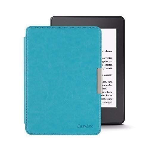 EasyAcc® custodia in pelle per Kindle Paperwhite Cover Case - Kindle Paperwhite Accessori Custodia Protettiva (blu)