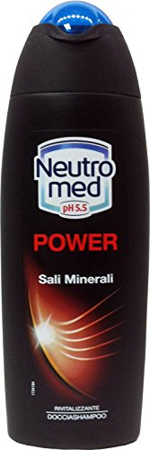 12 x NEUTROMED Doccia Shampoo Power Rivitalizzante 250 Ml