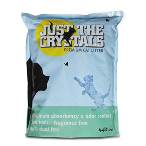 Just the Crystals Premium Crystal Cat Litter Fragrance Fragrance free packaged in recyclable bags (Total 8.8 Pounds) CAO (Just The Crystals compare prices)